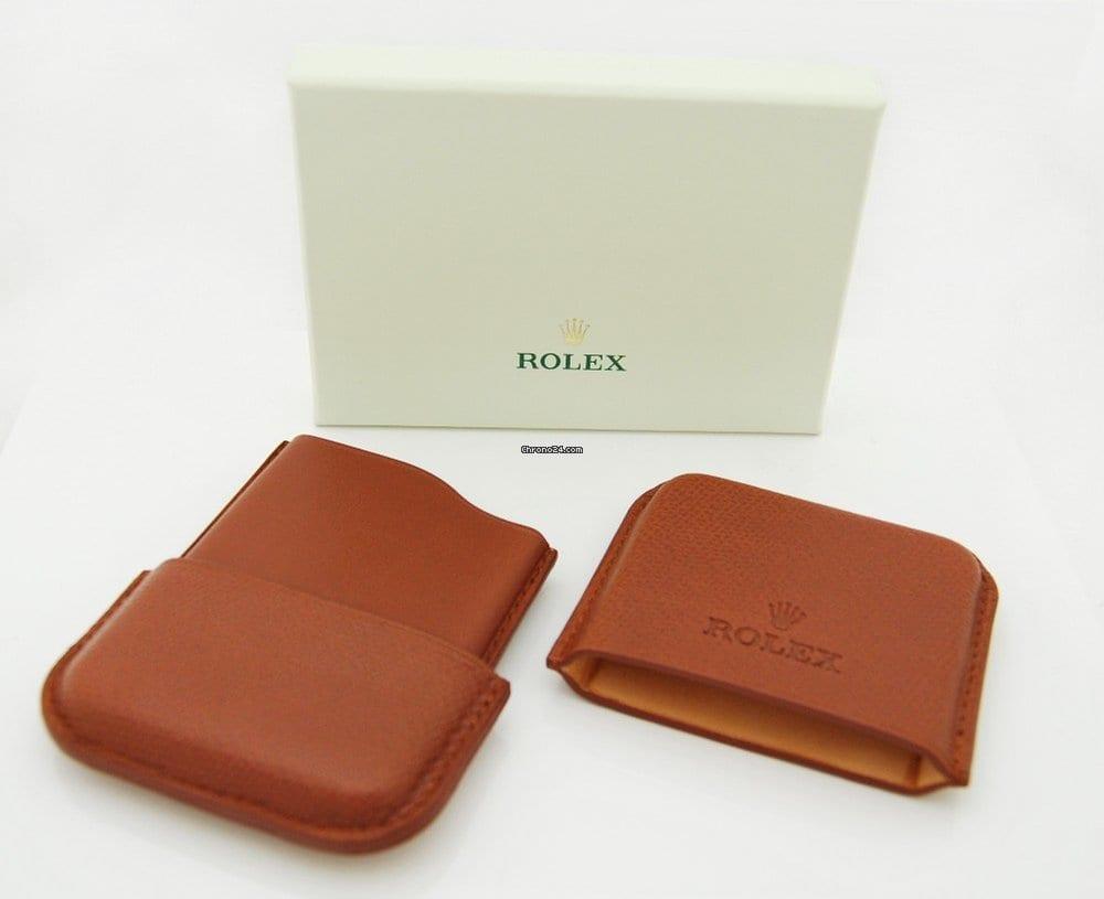 Rolex Visitenkarten Etui Tasche